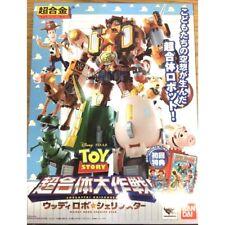 BANDAI Chogokin Toy Story Woody Robo Sheriff Star Robot Action Figure Japan F/S