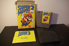 Super Mario Bros. 3 (NES, 1990) *Tested / With Box and Manual