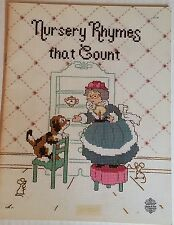 Designs by Gloria & Pat NURSERY THYMES THAT COUNT Book 1 Cross Stitch Leaflet