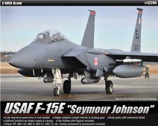 ACADEMY #12295 1/48 Plastic Model Kit USAF F-15E Seymour Johnson