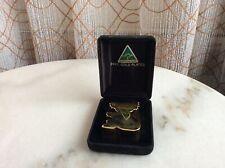 24 Carat Gold Plated Australian Made Koala Souvenir #323
