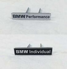 2 pcs Seat Emblems Logo Badge Sticker M Perfomance for BMW Vehicles