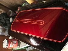 Harley FXR right side saddlebag NOS Sport Glide FXRD FXRT 90565-87 WOW! EPS21859
