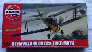 1/72 MODEL PLANE DE HAVILAND DH.82A TIGER MOTH AIRFIX D10-1287