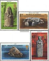GB-Guernsey 149-152 (kompl.Ausg.) postfrisch 1977 Denkmäler