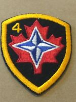 Patch, Canadian Maple Leaf 4 Patch Badge PB7