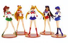 Sailor Moon set of 5 Pretty Soldier 1/8 unpainted statue figure model resin kit