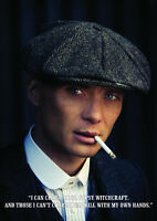 "Peaky Blinders, Tommy Shelby ""I can charm dogs"" Poster, Home Wall Art"