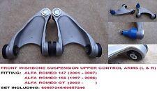 ALFA ROMEO 147 1.6 1.9 2.0 3.2 Pair Front Upper Suspension Top Arms Wishbones