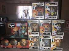 FUNKO TELEVISION THUNDERCATS POP COLLECTION SDCC /480 /1000 FLOCKED LION-O LOT