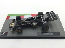 lotus 72d-1972 emerson fittipaldi 1/43  collection formula 1 neuf socle plexi