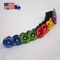 MTB Road Folding Bike Bicycle Handlebar End Plugs Lock Caps 22.2-25.4mm Bar End