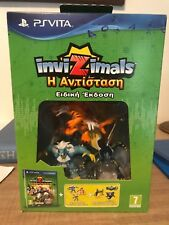 Invizimals The Resistance Special edition (PS VITA - 2014) RARE NUMBERED