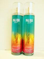 Bath Body Works MALIBU HEAT Fine Fragrance Mist 8 oz/236 mL NEW x 2