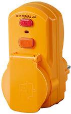FI Schutz Schalter Personenschutz Adapter zum aufstecken brennenstuhl