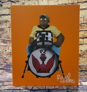"Superplastic X Gorillaz Russel Song Machine Vinyl Figure Drummer 9"" NEW~ON HAND"