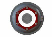 "ONE 3.5"" Valcrum Aluminum Hub Cap Fits 9K-10K GD Trailer Axle Oil 21-88 Dexter"