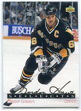 1992-93 Upper Deck Gordie Howe Selects 9 Mario Lemieux