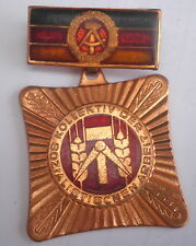 Socialistic Germany DDR Medal medaille,Labor labour badge,Sozialistischen Arbeit