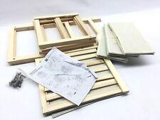 Lavish Home Organization Drawers with Natural Wood Shelf and Three Fabric Storag