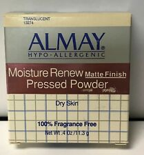 Almay Moisture Renew Matte Finish Pressed Powder  TRANSLUCENT 13274