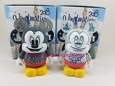 "Disney Vinylmation 3"" Mickey Mouse Eachez 2018 Common & Variant (NEW)"