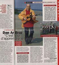 Coupure de presse Clipping 1996 Dan Arbraz à l'Eurovision  (1 page)