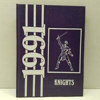 VTG Van Buren Jr High Knights 1991 Yearbook Kettering Ohio Middle School Signed