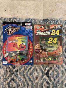 Jeff Gordon #24 Elmo Winners Circle 1/64 Diecast NASCAR Lot & Hood Magnet