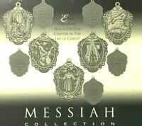 Messiah Collection Pewter Christmas Ornaments Family Religious Tradition Story