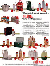 American Thermos ROY ROGERS Workman's Lunch Kit CAREER GIRL SHOULDER BAG 1956 Ad