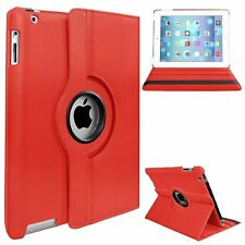 FUNDA PARA IPAD MINI 1 2 3 ROTATE GIRATORIA ROJA TABLET AUTO SLEEP FUNCION