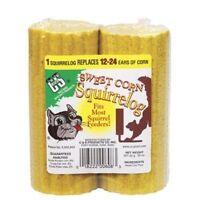 C & S Products Sweet Corn Squirrel Log Corn