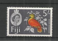 FIJI 1959 DEFINITIVE HIGH VALUE 5/- SG,323 U/MM NH LOT 3053A