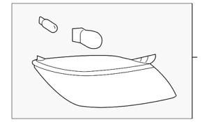 Genuine GM Tail Lamp Assembly 25854810