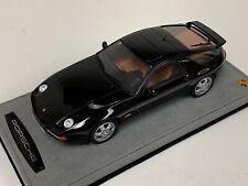 1/18 GT Spirit Porsche 928 GTS from 1992  in Black GT738 Alcantara Base