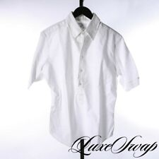 NWT #1 MENSWEAR Brooks Brothers Black Fleece White OCBD Oxford Popover Shirt 2