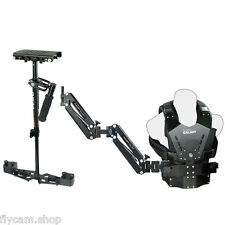 Flycam1-4 KG Load Steadycam Camera DSLR Stabilizer Double Arm Vest for 5D 7D