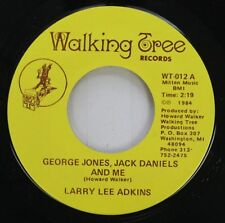 Rare Country Nm! 45 Larry Lee Adkins - George Jones, Jack Daniels And Me / Years