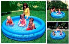 Kids Inflatable Swimming Pool Intex Outdoor Fun Kiddie Children Summer Play Toy
