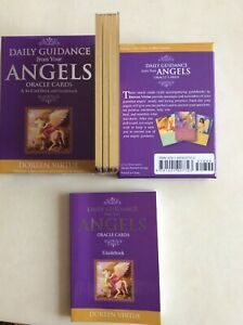 Daily Guidance from your Angels Oracle Cards and guidebook by Doreen Virtue