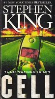CELL by Stephen King * Tall Premium Paperback