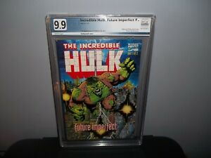 INCREDIBLE HULK FUTURE IMPERFECT #1 PGX 9.9 MINT! 1st First MAESTRO! (CGC 9.8)