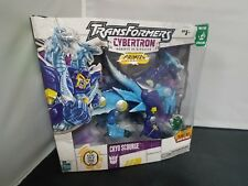 TransFormers Cybertron RID Primus Unleashed CRYO SCOURGE Ultra Class Hasbro 2006