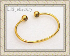 Copper Yellow Gold Plated Fashion Bangles