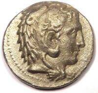 Ancient Philip III AR Tetradrachm Coin - 323-317 BC - AU Details!