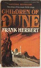 CHILDREN OF DUNE by Frank Herbert (1977) Berkley SF pb foil logo