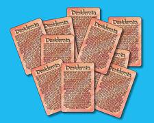 """Desiderata"" - Inspirational Poem - Ten [10]  Mini-Verse Cards - SKU# 633"