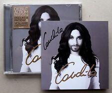 CONCHITA WURST * AUSTRALIA 12 TRK CD w/ EXCLUSIVE SIGNED INSERT * BN&M!
