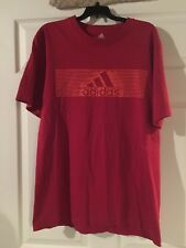 Mens Tee By Adidas Size XL In Good Pre-owned Condition!